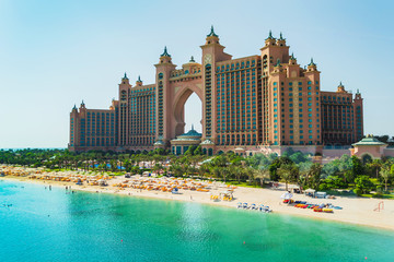 Photo sur Plexiglas Dubai Atlantis Hotel in Dubai, UAE
