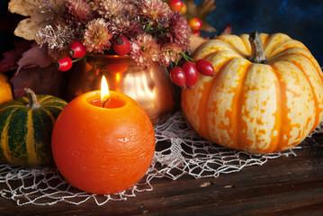Autumn thanksgiving decor