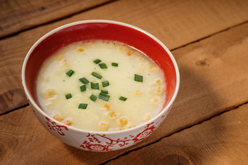 Creamed soup