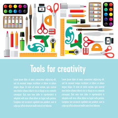 Template tools for creativity