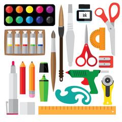 set of creative tools.