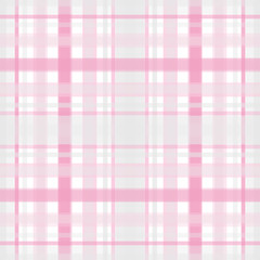 Seamless retro textile tartan checkered plaid pattern print