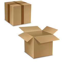 картонная коробка, контейнер