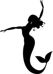 mermaid silhouette