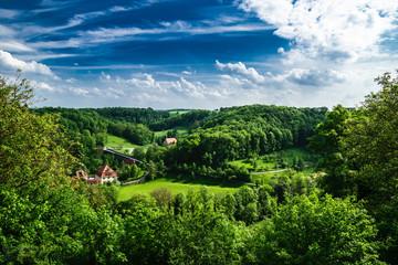 Taubertal nahe Rothenburg ob der Tauber