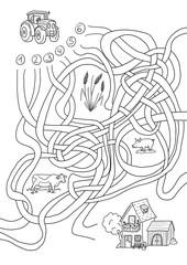 Labyrinth Bauernhof