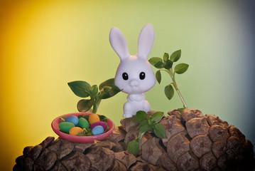 Easter Bunny - Postcard