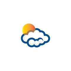 sun and cloud logo