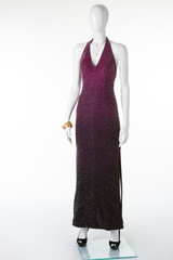 Evening dress for party and ceremonies.