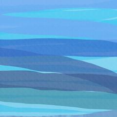 Aquarellfarbe blau in Streifen gemalt als Hintergrund