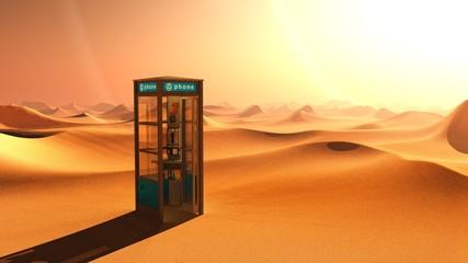 desert telephone etoile
