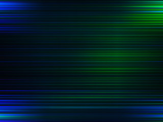 Horizontal blue and green lines abstraction background
