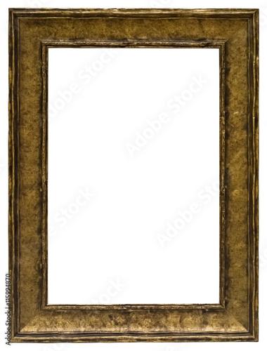 antiker ausgefallener bilderrahmen in gold im hochformat stockfotos und lizenzfreie bilder. Black Bedroom Furniture Sets. Home Design Ideas