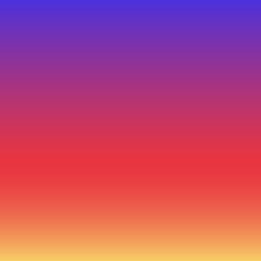 Colorful instagram inspired vector smooth gradient background.