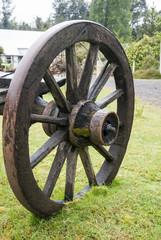 Vintage Wagon Wheel - Puerto Montt - Chile