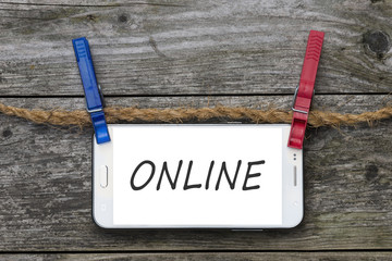 Smartphone - Online - Pinnwand