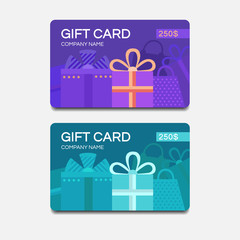 Vector gift cards