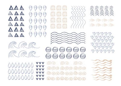 Vector hand drawn texture