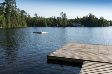 contryside ontario canada nature view of the lake