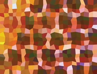 Multicolored quadrilaterals illustration. Quadrilaterals design.