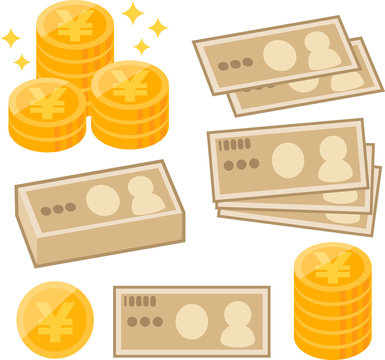 日本円のイメージイラスト