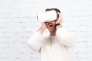 begeisterung über hightec brille