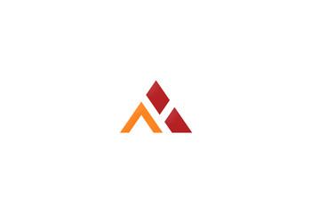 shape triangle business logo