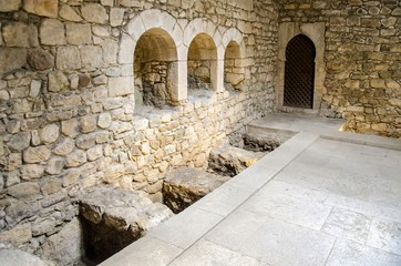 Banys Arabs (Arab Baths) in Girona, Catalonia, Spain