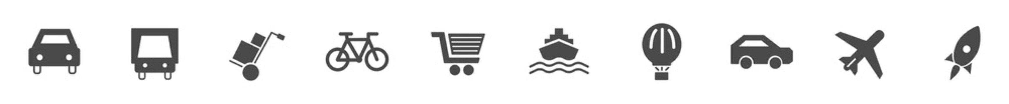 Verkehr & Logisitk Icons