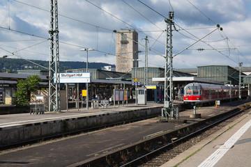 Hauptbahnhof in Stuttgart