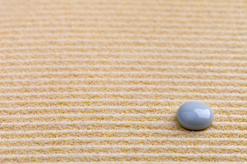 Art background - yellow sand and stone