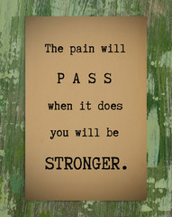Life quote, motivation quote, quote about strength