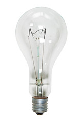 Big glass electric bulb