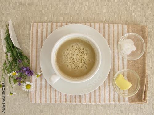 abnehmen kaffee mit butter