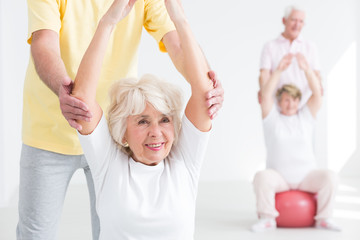 Exercises makes me feel younger