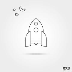 Rocket Toy Icon