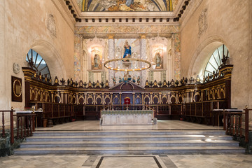 Altar at the Cathedral of Havana in Cuba