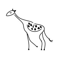 Abstract giraffe pattern 0