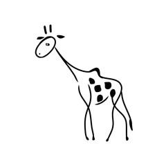 Abstract giraffe pattern 1