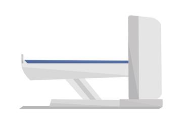 Magnetic resonance imaging vector illustration.
