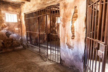 Interior of an old prison