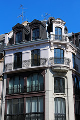 classical apartment building in Strasbourg - France