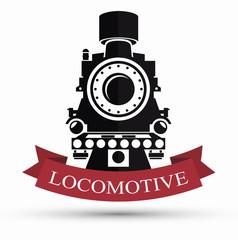 railroad train isolated icon design, vector illustration  graphic