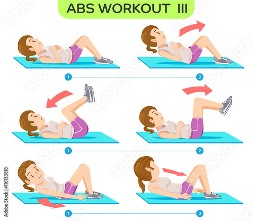 how to make abs fast at home