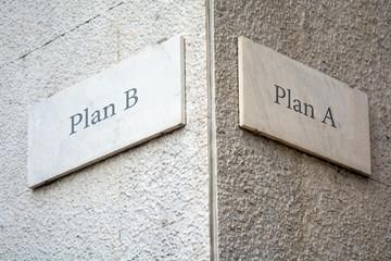 Schild 109 - Plan B