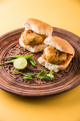 Vada Pav or Vada Paav is a famous Indian street food