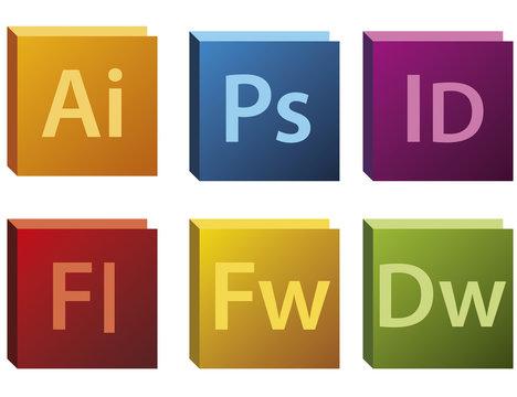 Adobe CS5 Logos