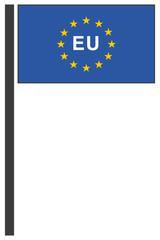 drawing European flag