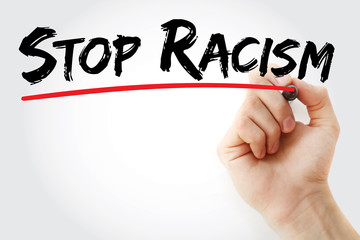 racism must stop essay Free essay: racism must stop courage under fire the ability to stand up for your beliefs in the face of adversity having the wherewithal to succeed where.