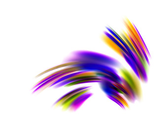 Abstract Beautiful Dynamic Colorful Background
